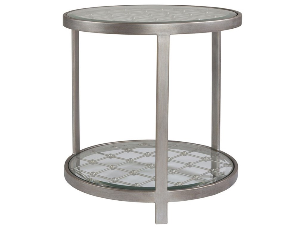 Artistica Artistica MetalRoyere Round End Table