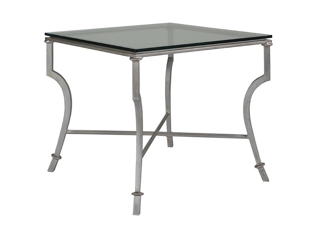 Artistica Artistica MetalSyrah Square End Table