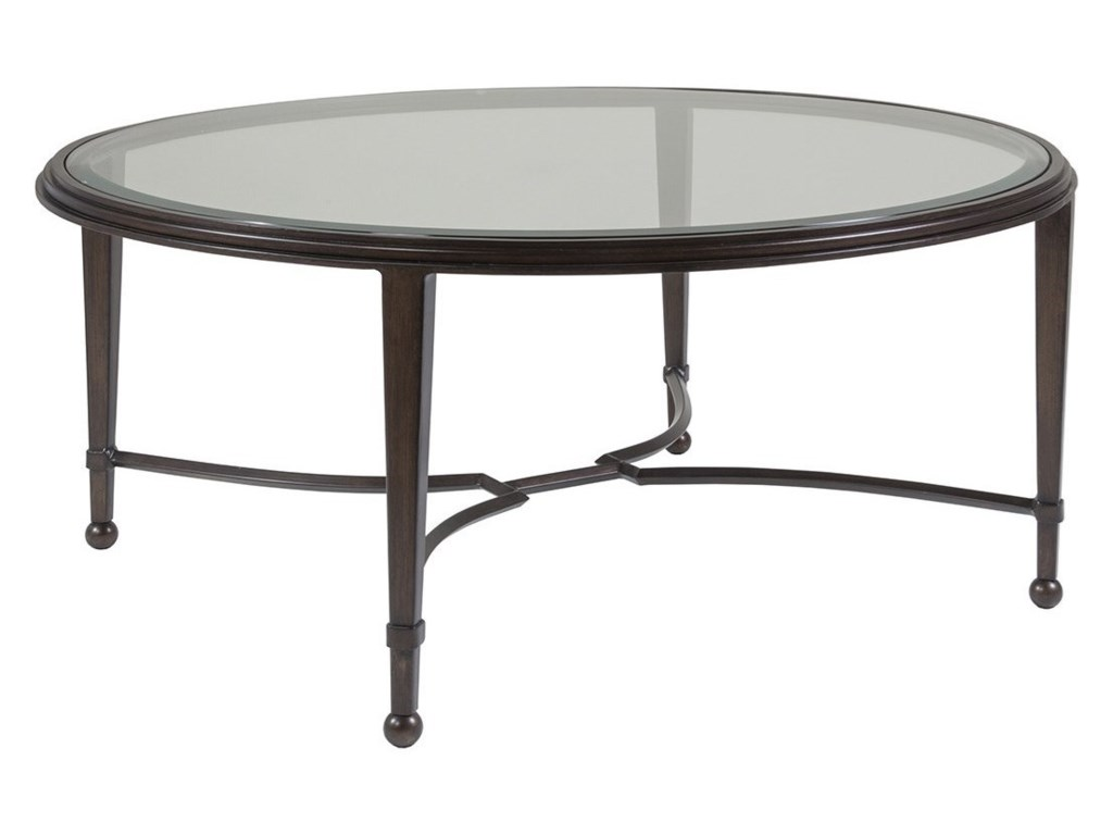 Artistica Artistica MetalSangiovese Round Cocktail Table