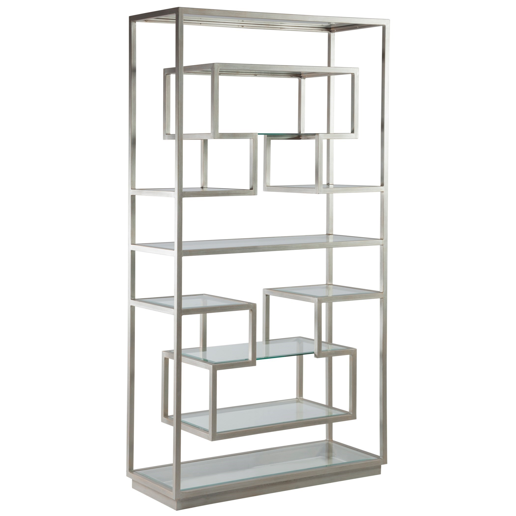 Holden Etagere with 11 Glass Shelves