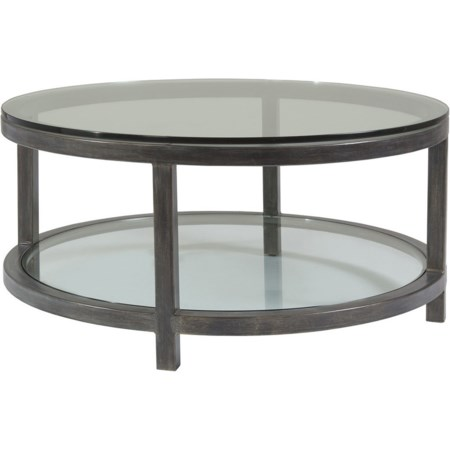 Per Se Round Cocktail Table