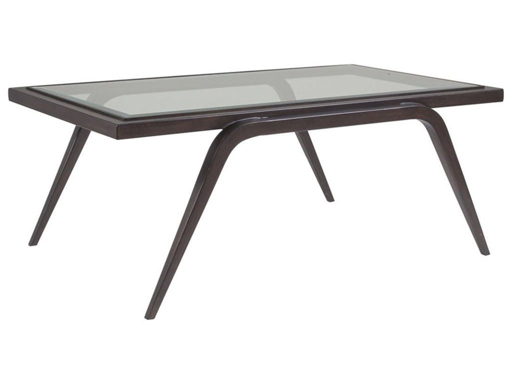 Artistica Artistica MetalMitchum Rectangular Cocktail Table