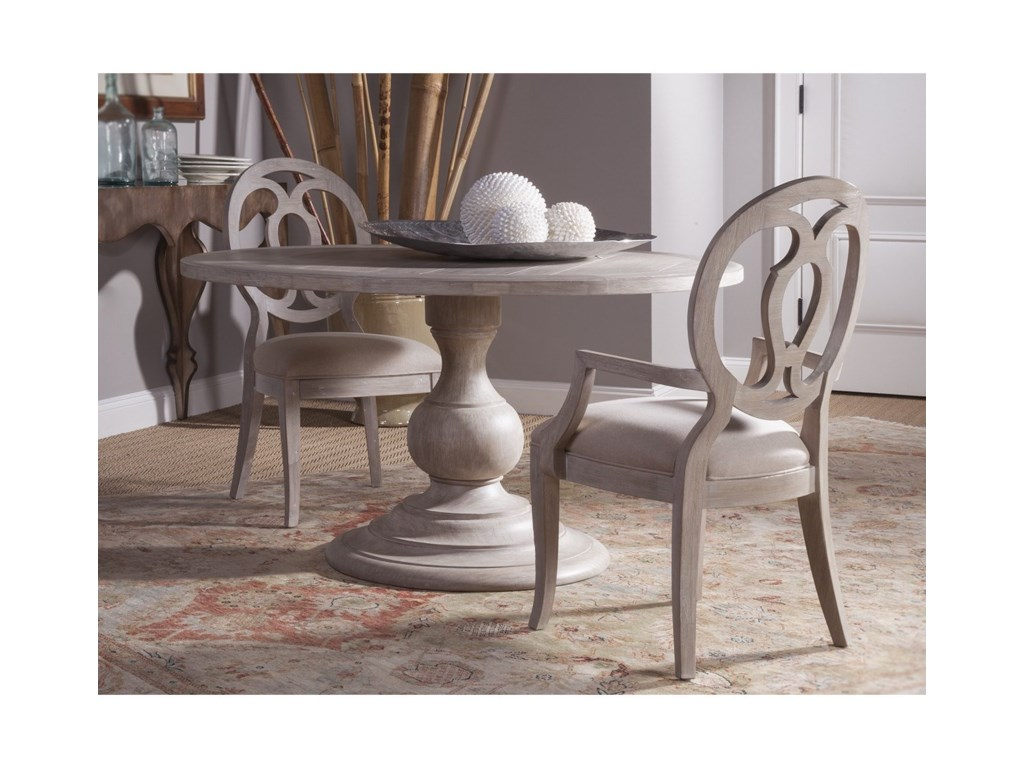 Artistica CohesionAxiom Round Dining Table