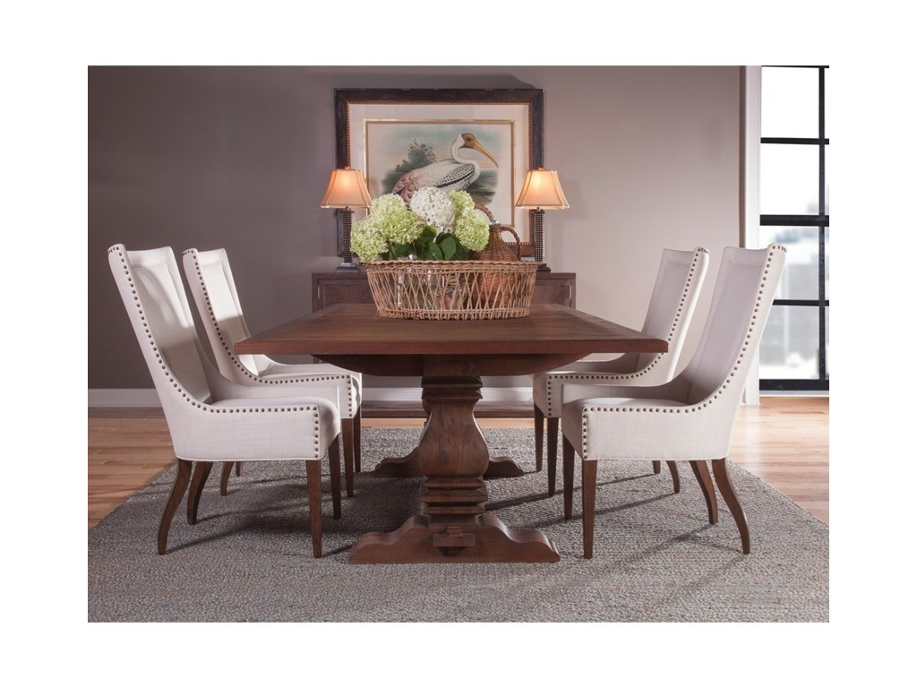 Artistica CohesionAxiom Rectangular Dining Table