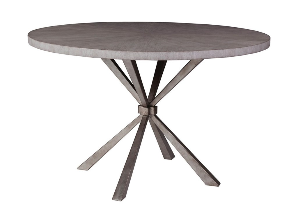 Artistica Iteration Transitional Round Dining Table
