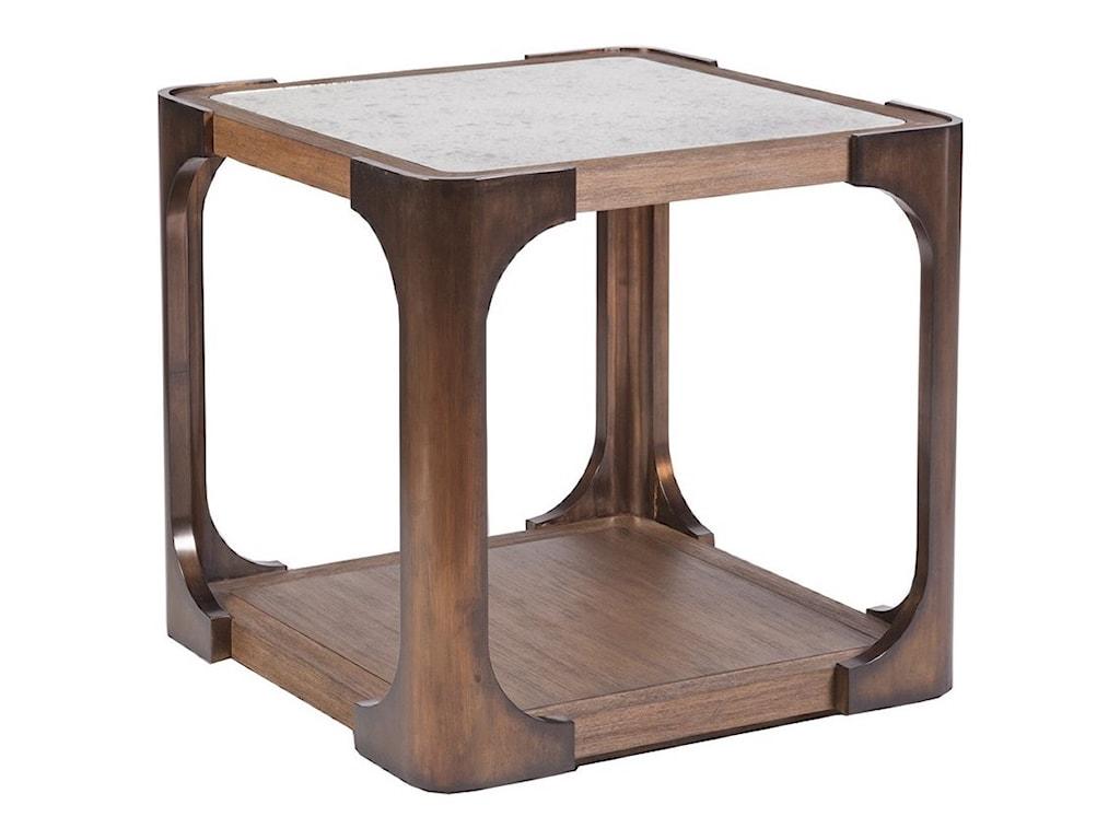 Artistica TucoTuco Square End Table