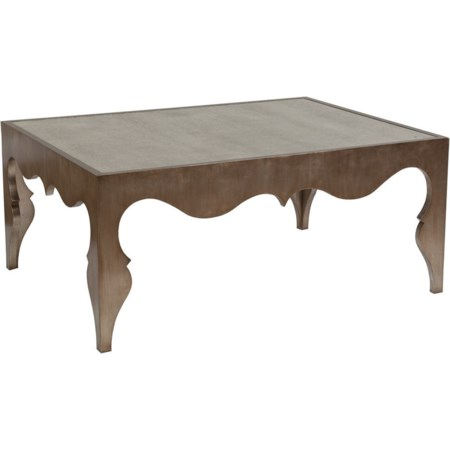 Van Cleef Rectangular Cocktail Table