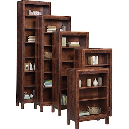 Customizable Open Bookcase