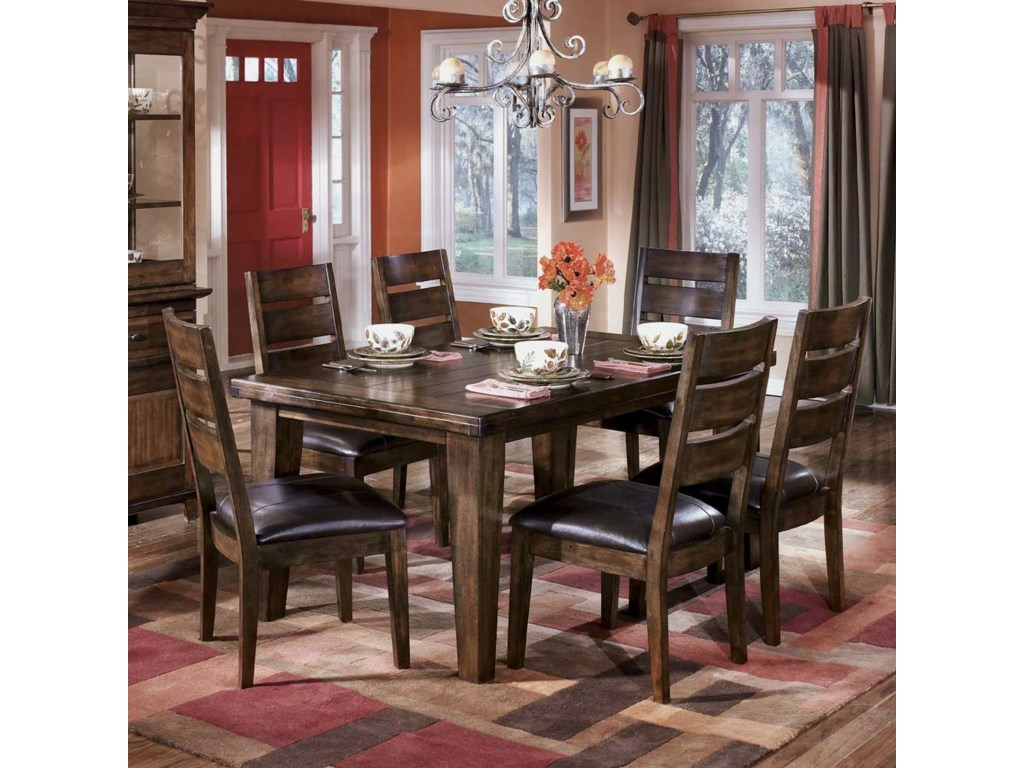 Signature Design by Ashley LarchmontDining Table with 6 Side Chairs