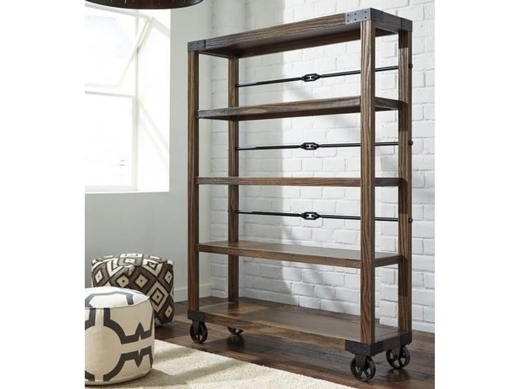 Ashley Furniture 100 Large Bookcase L Fish Open Bookcases