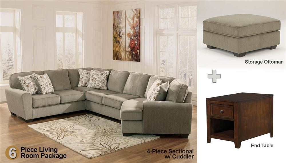 Living Room Sets Boston Ma patina 6-piece sectional living room set - rotmans - upholstery
