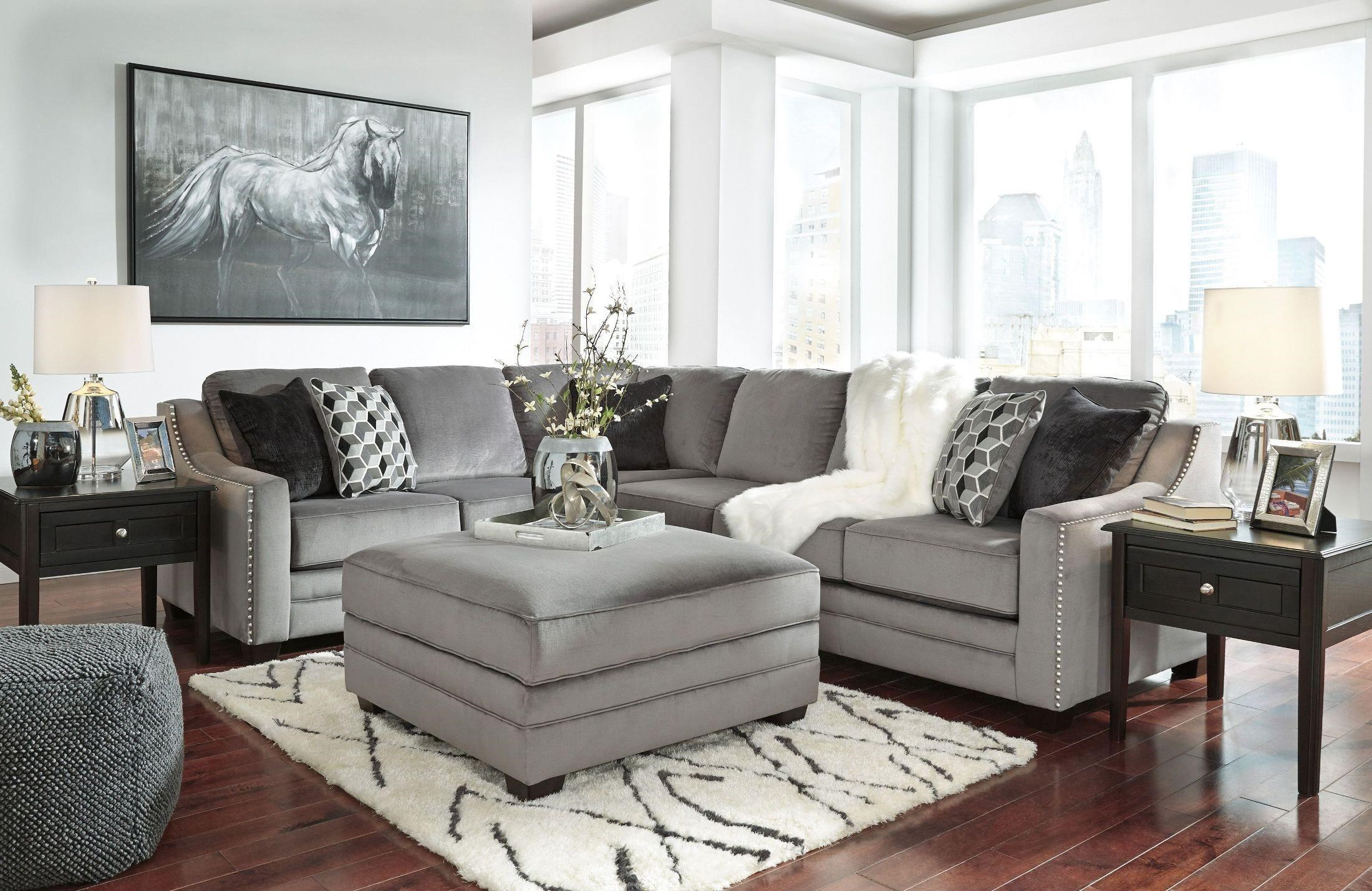 Ashley Furniture Bicknell Sectional  sc 1 st  Boulevard Home Furnishings : ashley furniture modular sectional - Sectionals, Sofas & Couches