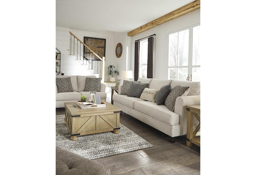 Ashley Furniture Alcona 9831038 Modern Farmhouse Sofa And Appliancemart Sofas
