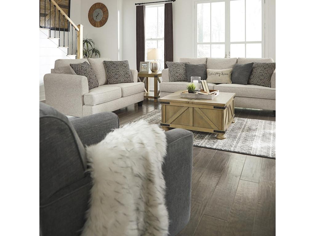 Alcona 3 Piece Living Room Set