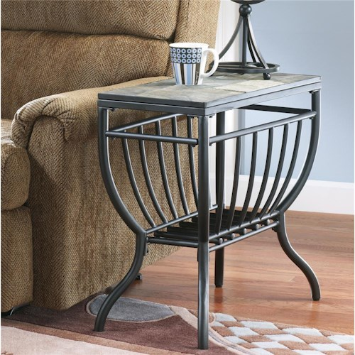 Signature Design by Ashley Antigo Chairside End Table