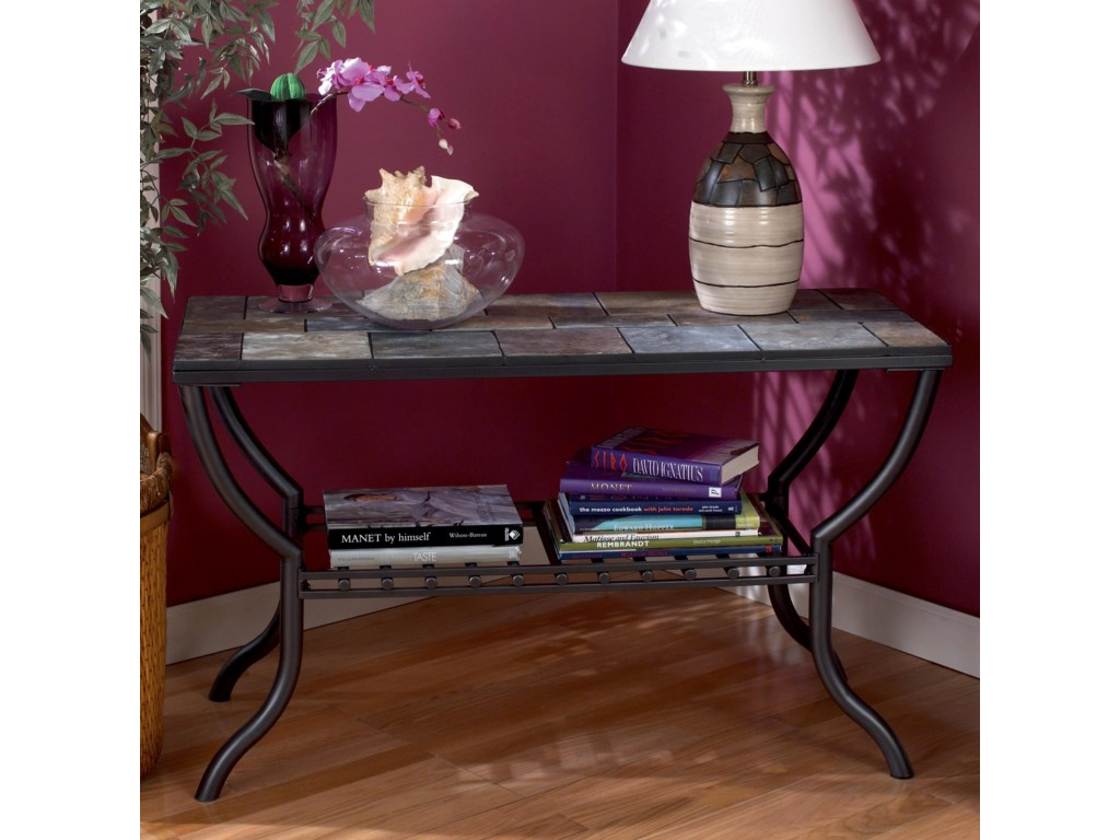 Signature Design by Ashley AntigoSlate Top Sofa Table