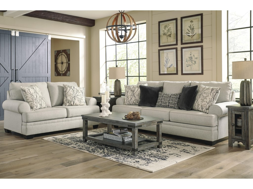 Ashley Furniture AntonliniSofa and Loveseat Set