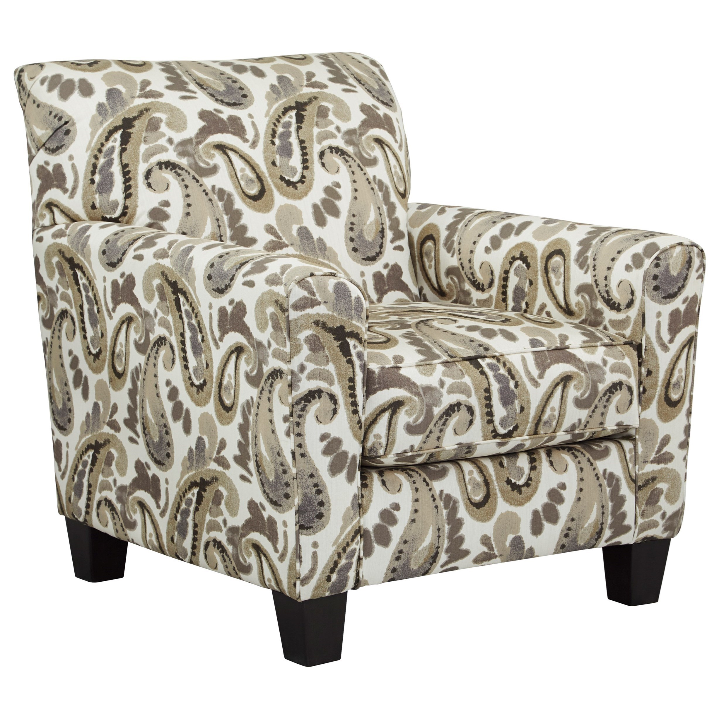 Delightful Ashley Furniture Arietta Accent Chair In Paisley Fabric   Gill Brothers  Furniture   Upholstered Chairs