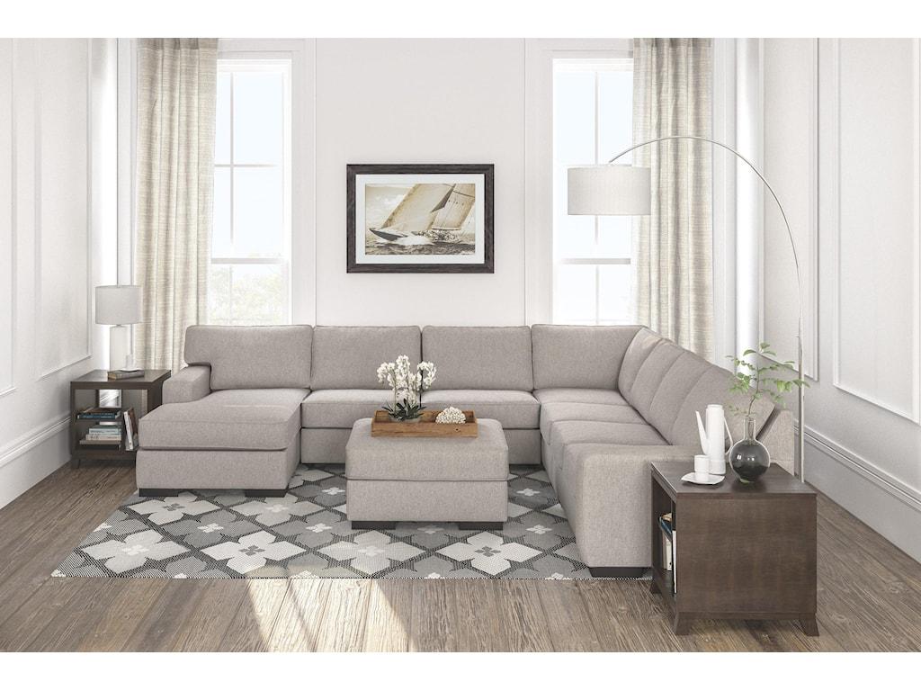 Ashley Furniture Ashlor Nuvella5 PC Sectional Set