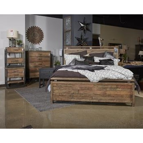 Ashley Furniture B775 Sommerford Queen Storage Bed Boulevard Home Furnishings Headboards