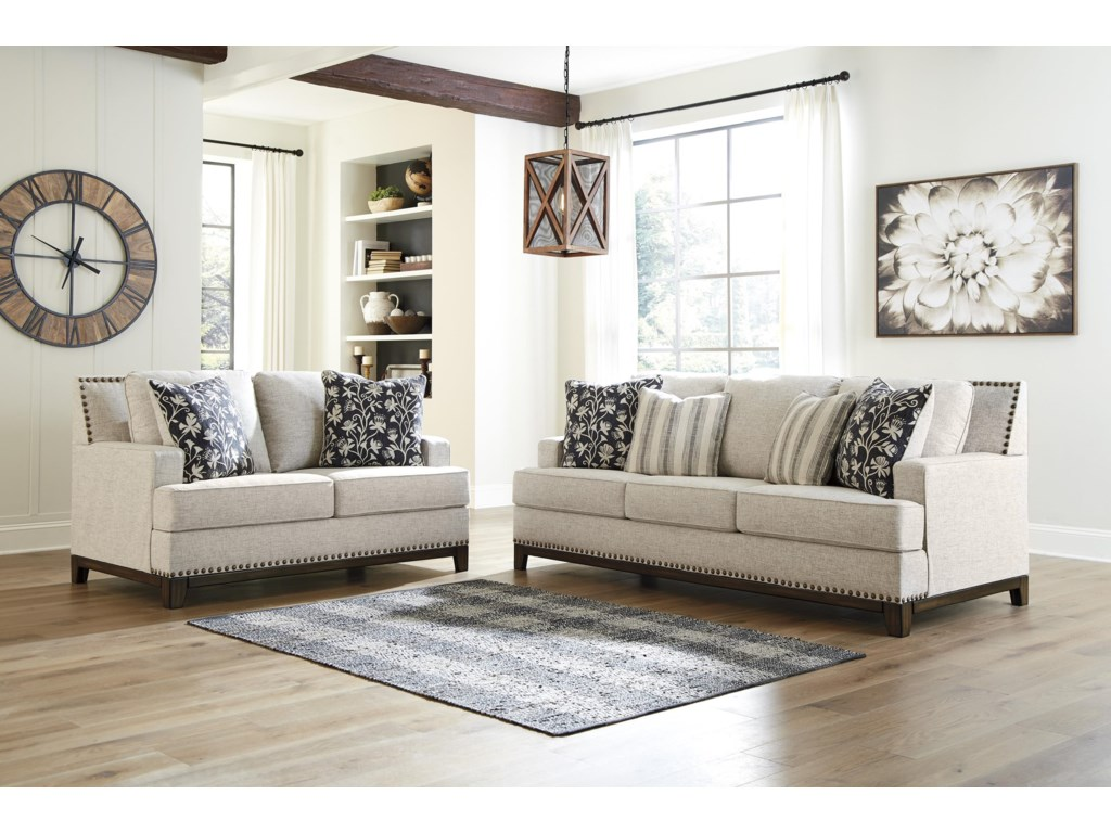 Ballina Sofa and Loveseat Set