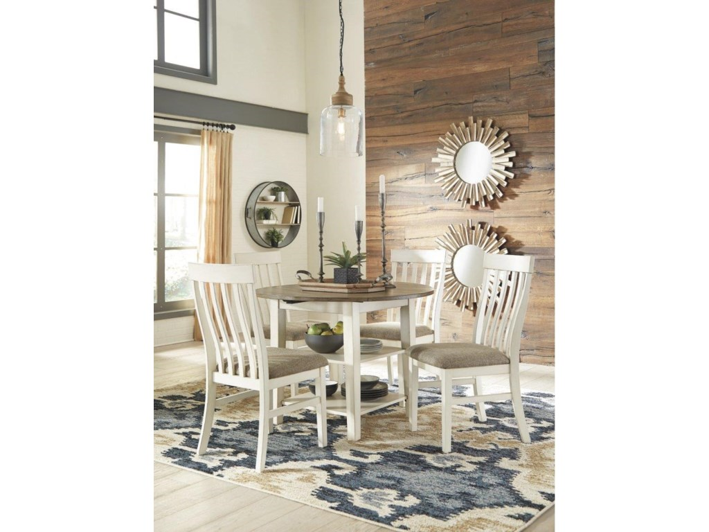 Ashley Furniture D447 Table X 4 Chairs