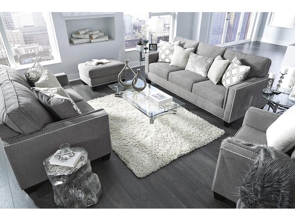 Ashley Furniture BarraliSofa, Chair and Ottoman Set