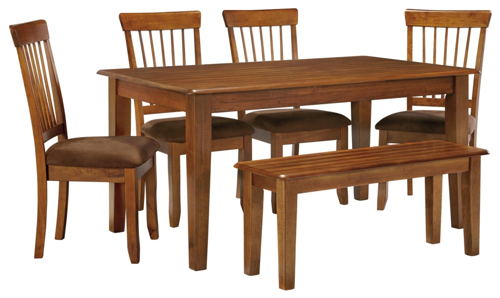 Ashley Furniture Berringer 36 X 60 Table With 4 Chairs Bench