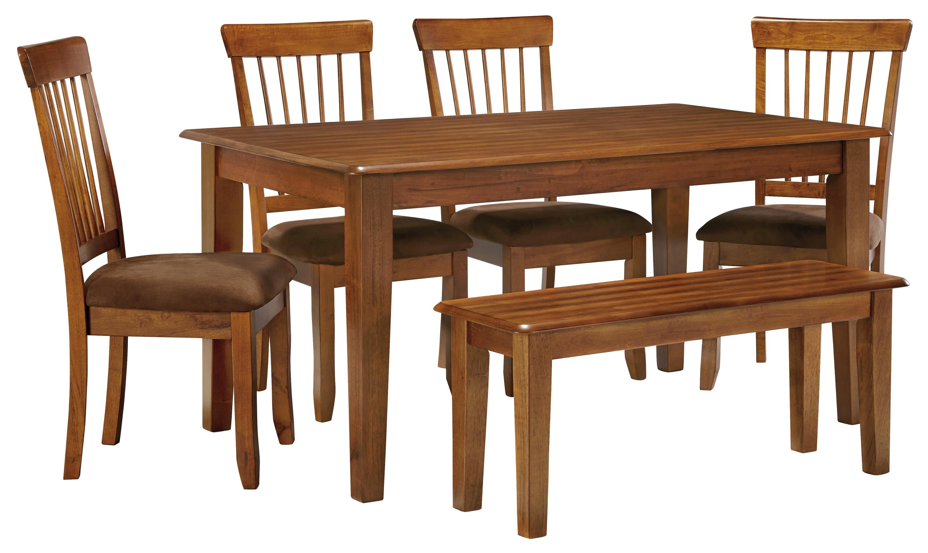 Ashley Furniture Berringer 36 X 60 Table With 4 Chairs U0026 Bench