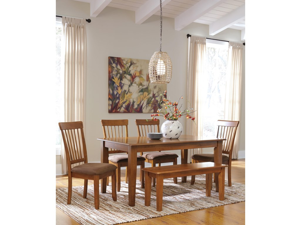Ashley Furniture Berringer36 x 60 Table with 4 Chairs & Bench