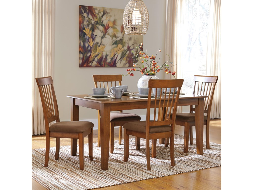 Ashley Furniture Berringer5-Piece 36x60 Table & Chair Set