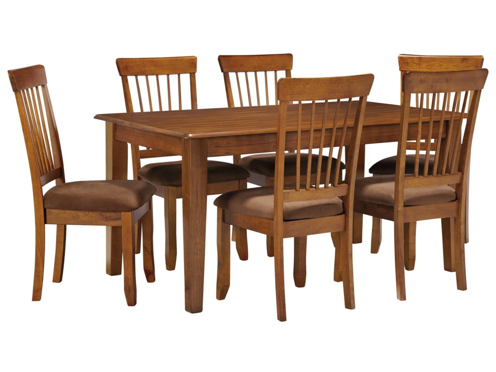 Ashley Furniture Berringer7-Piece 36x60 Table & Chair Set