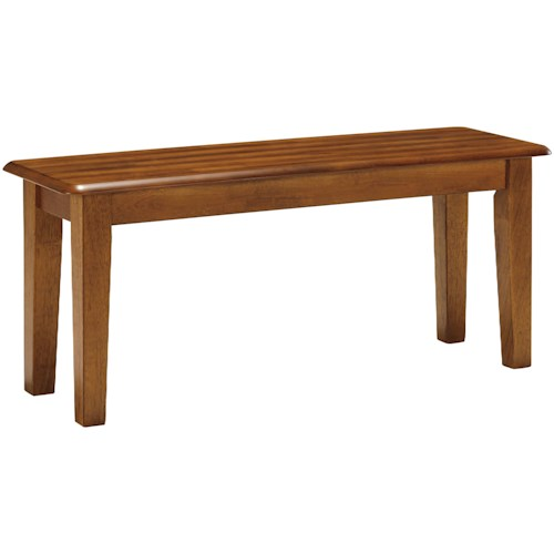 Ashley Furniture Berringer Hickory Stained Bench