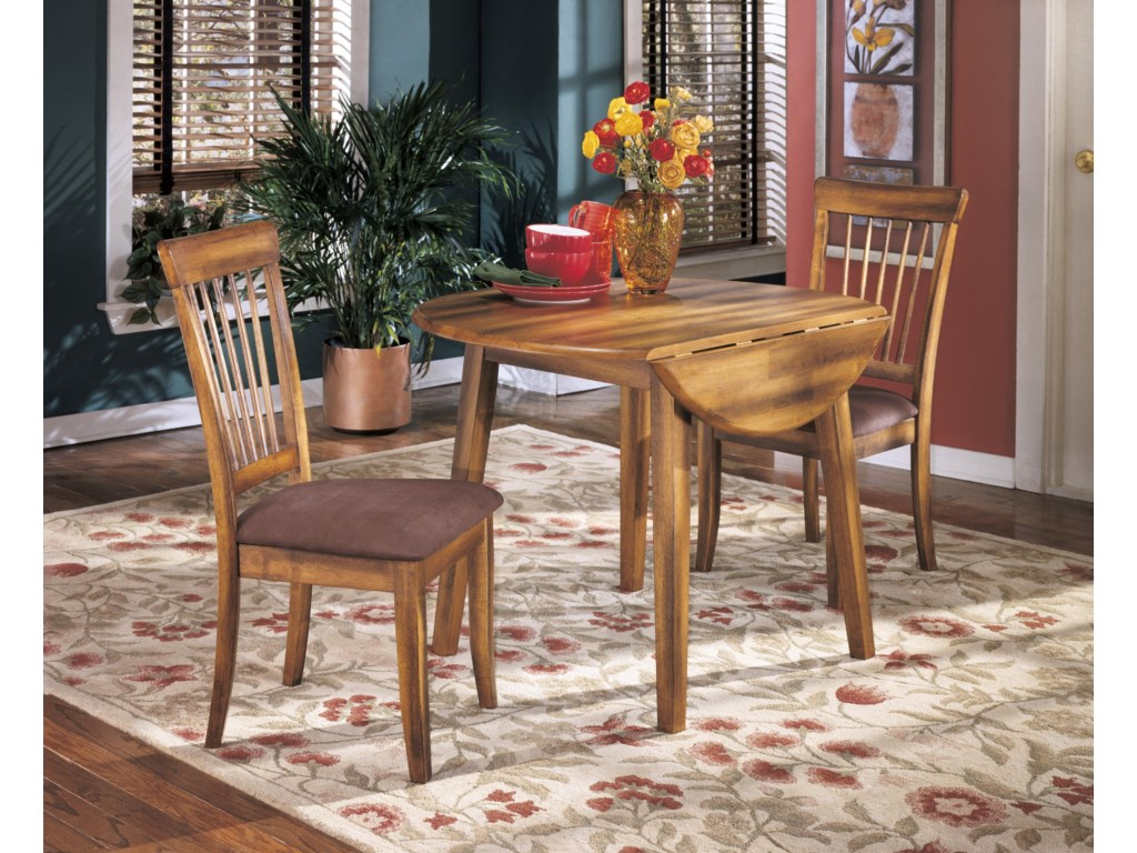 Ashley Furniture BerringerRound Drop Leaf Table