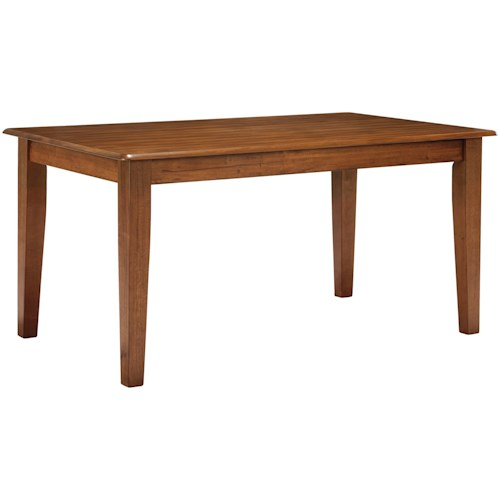 Ashley Furniture Berringer Hickory Stained 36x60 Kitchen Table