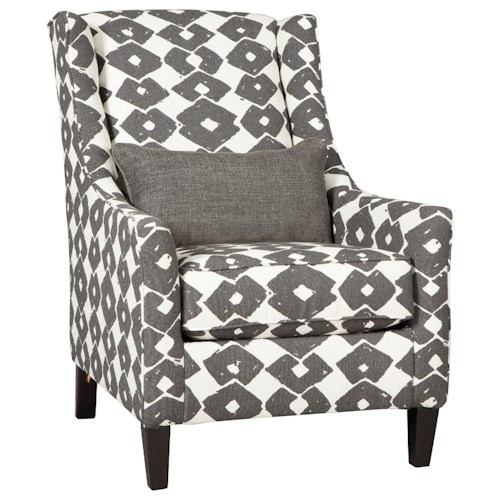 Ashley Furniture Lemoore Accent Chair In Fog Local Outlet