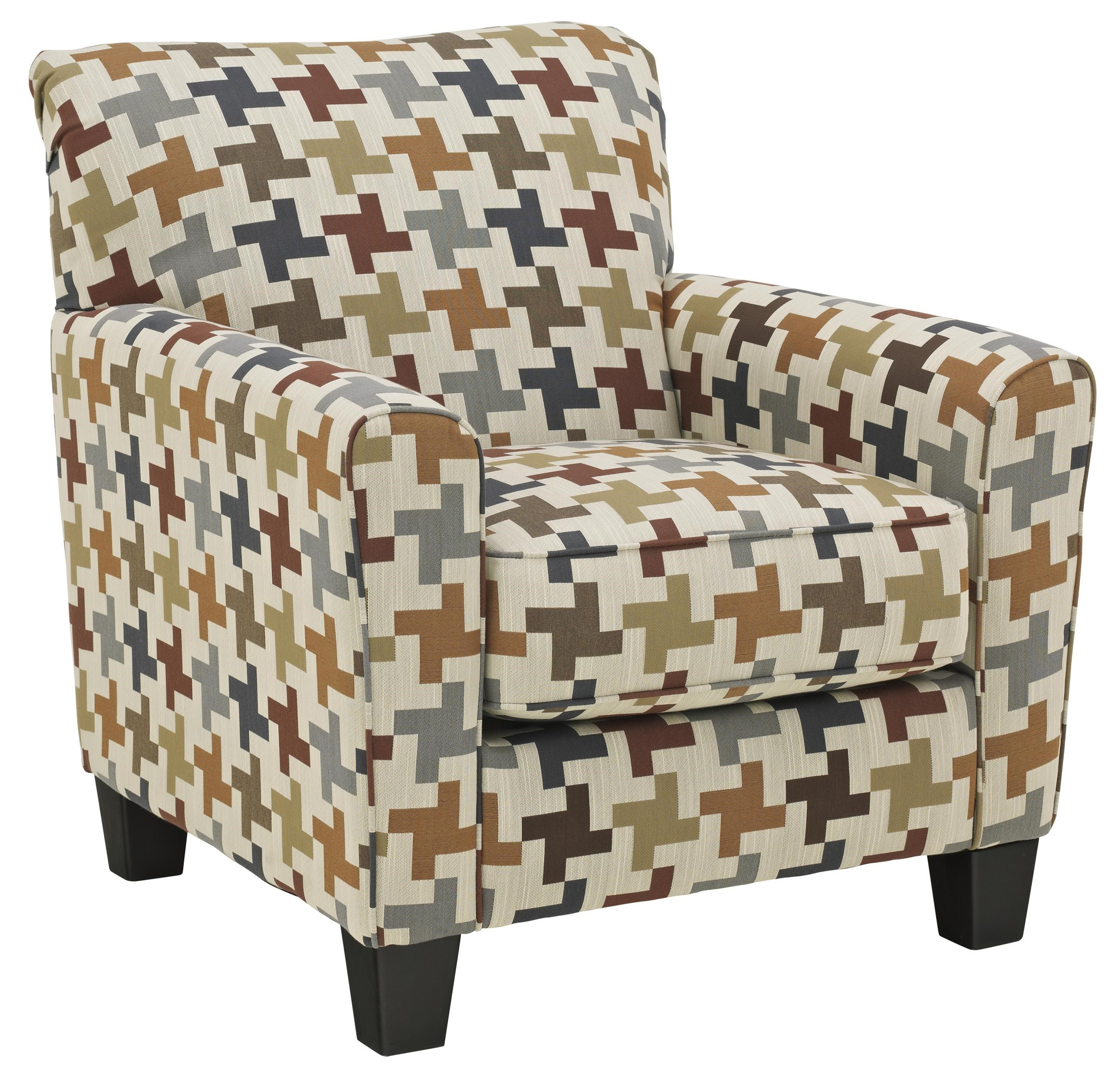 Ashley Furniture Caci Contemporary Accent Chair   Miskelly Furniture    Upholstered Chairs
