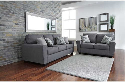 Ashley Furniture Calion Stationary Living Room Group - Colder's .