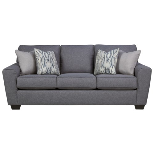 Ashley Furniture Calion Contemporary Queen Sofa Sleeper With Memory