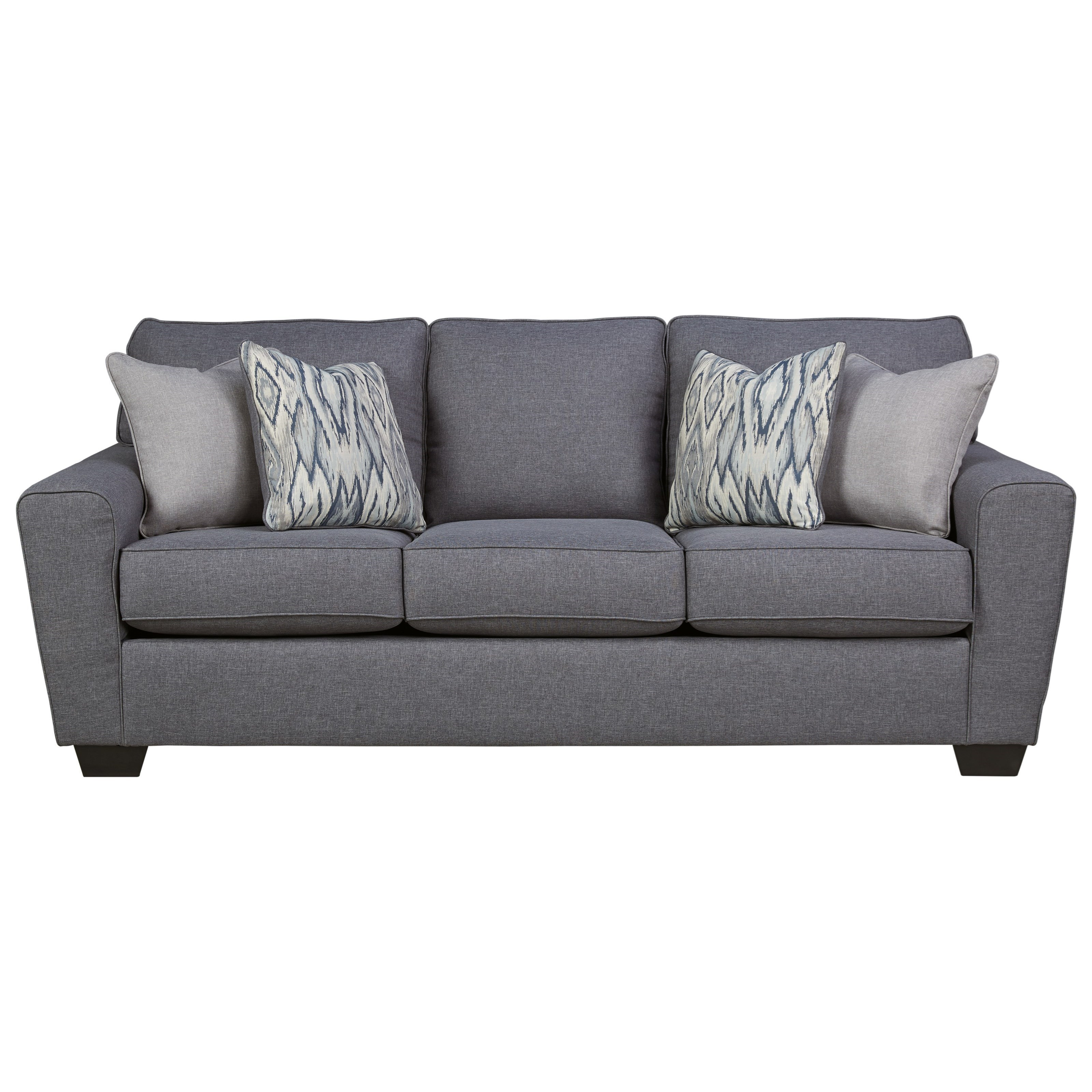 Ashley Furniture Calion Contemporary Queen Sofa Sleeper With Memory Foam  Mattress
