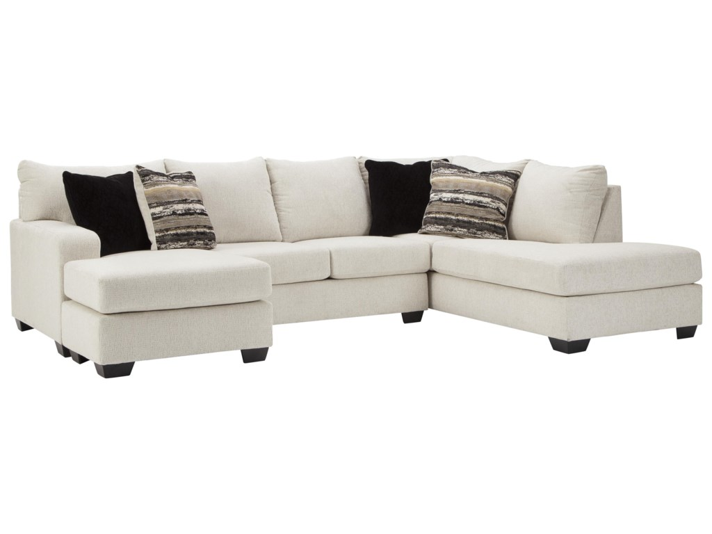 Ashley Furniture Cambri2 PC Sectional and Storage Ottoman Set