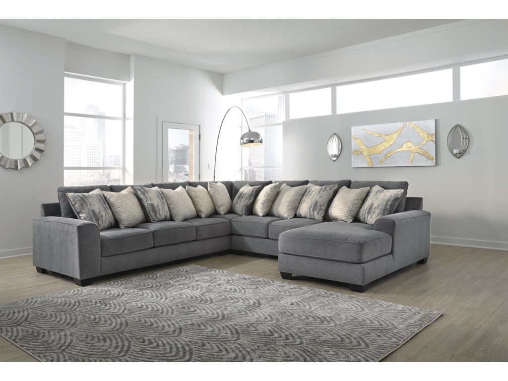 Ashley Furniture Castano4 Piece Sectional