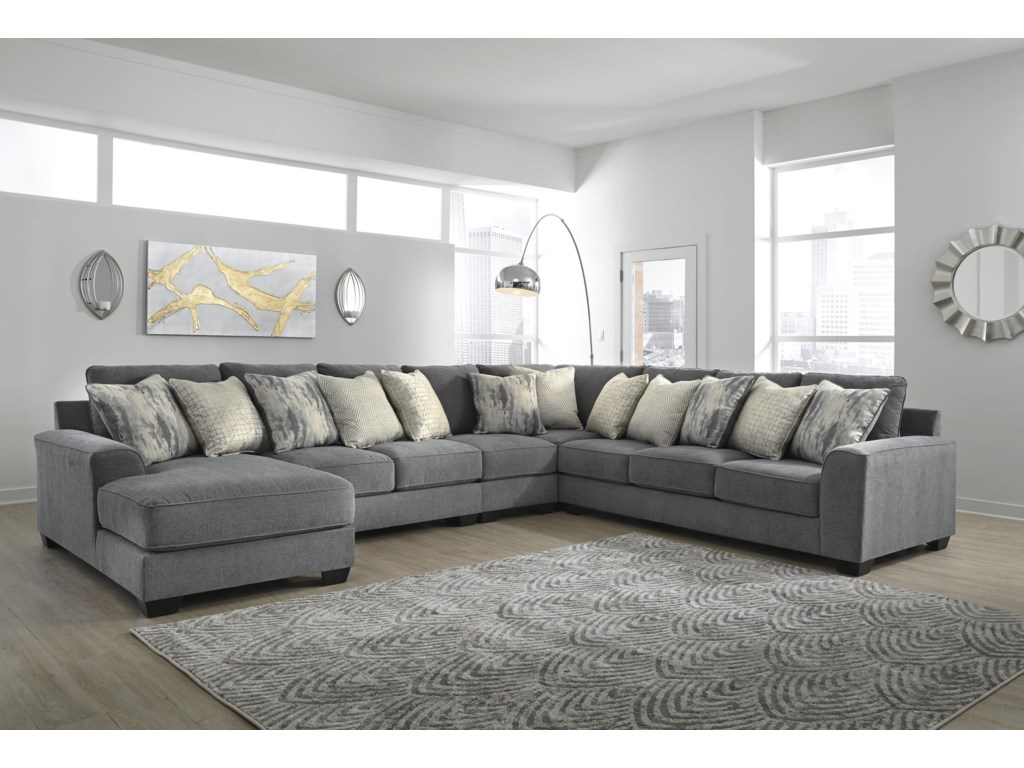 Castano 5 Piece Sectional