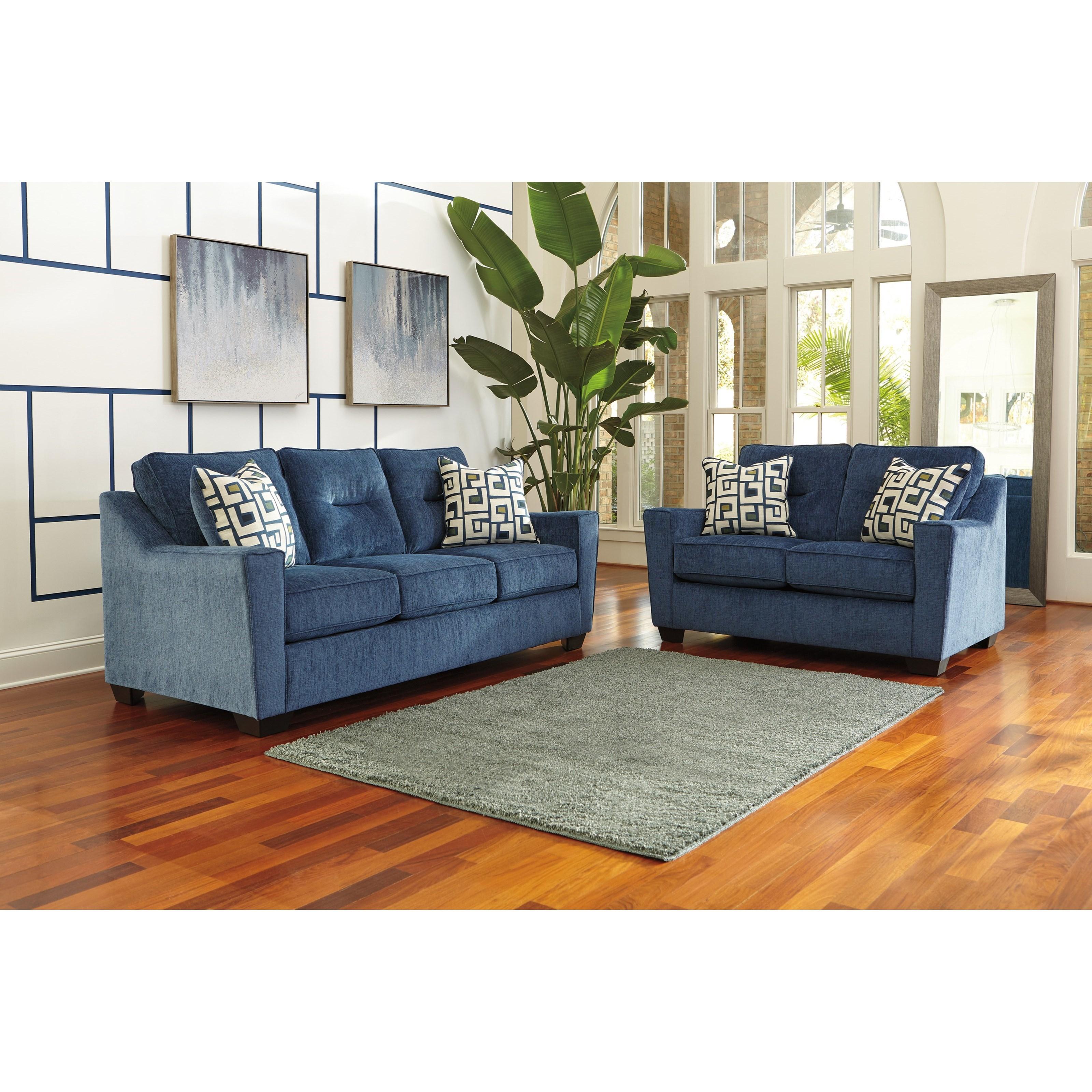 Ashley Furniture Cerdic Stationary Living Room Group   Pedigo Furniture    Stationary Living Room Groups