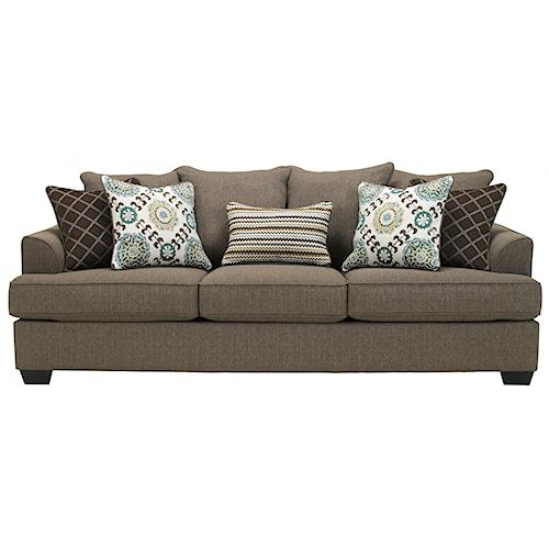 Ashley Furniture Corley Slate Sofa Boulevard Home