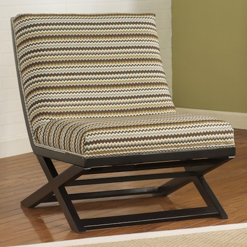 Ashley Furniture Corinth Armless Accent Chair