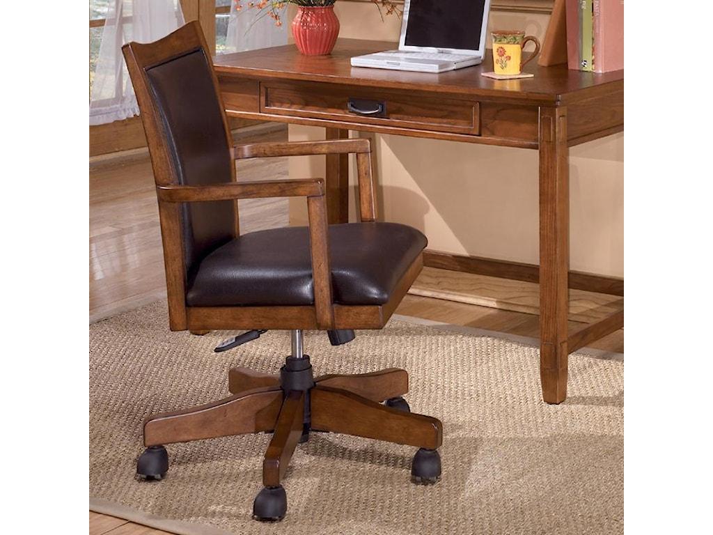 Ashley Furniture Cross IslandArm Chair with Swivel/Adj Height
