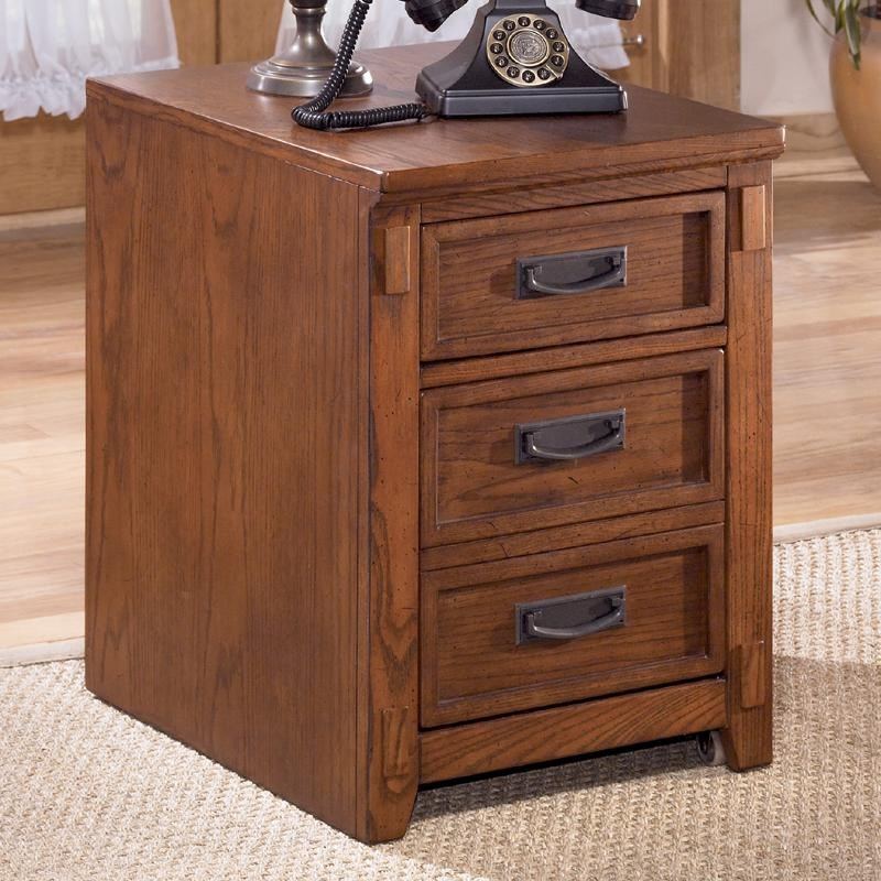 Ashley Furniture Cross Island Mission 2 Drawer Mobile File Cabinet ...