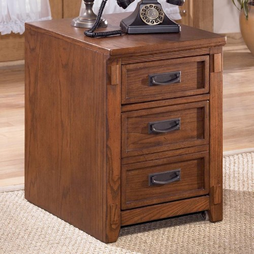 Ashley Furniture Cross Island Mission 2 Drawer Mobile File Cabinet