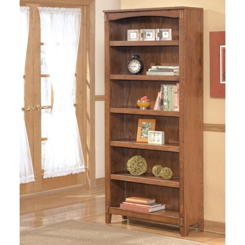 Ashley Furniture Cross Island Large Bookcase Godby Home Furnishings Open Bookcases